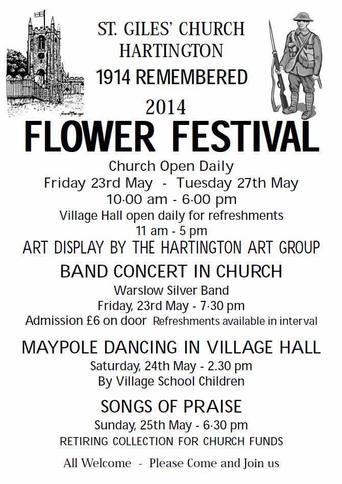 Flower Festival Hartington